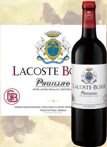 Lacoste Borie 2018 Second Vin de Pauillac