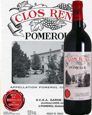 Château Clos René 2014 Grand Vin de Pomerol