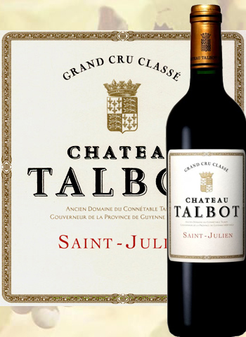 Château Talbot 2015 Grand Cru de Saint-Julien
