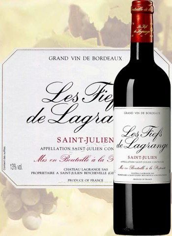 Les Fiefs de Lagrange 2010 Second Vin de Saint-Julien