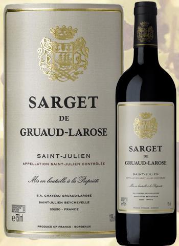 Sarget de Gruaud Larose 2017 Second Vin de Saint-Julien