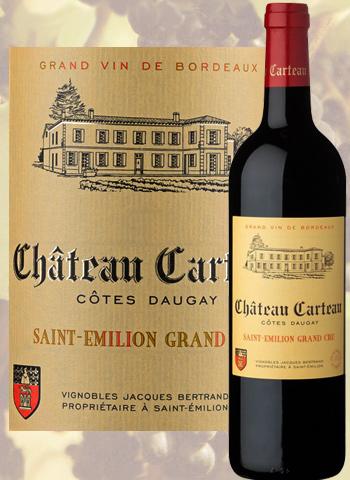 Château Carteau Côte Daugay 2017 Saint-Émilion Grand Cru