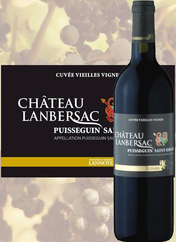 Château Lanbersac vieilles vignes 2016 Puisseguin Saint-Émilion