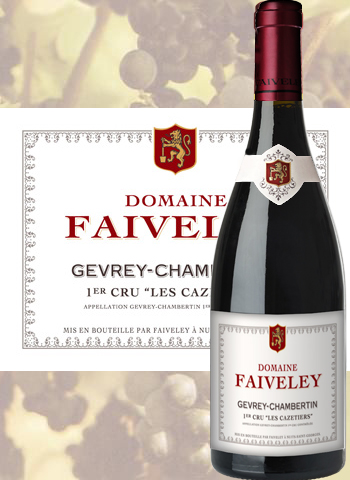1er Cru Les Cazetiers 2013 Gevrey-Chambertin Faiveley