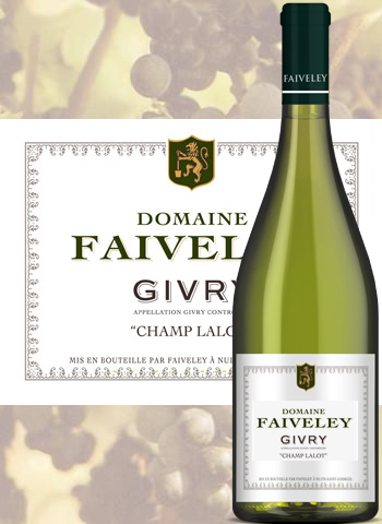 Givry Blanc Champ Lalot 2018 Domaine Faiveley