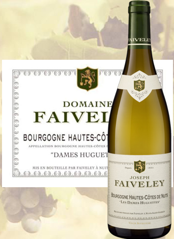 Les Dames Huguettes Blanc 2017 Hautes-Côtes De Nuits Faiveley