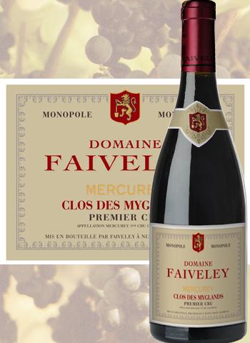 Mercurey Rouge 1er Cru Clos Des Myglands 2018 Faiveley