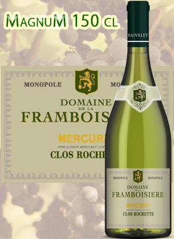 Magnum Mercurey Blanc Clos Rochette 2014 Monopole Faiveley