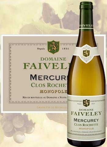 Mercurey Blanc Clos Rochette 2018 Monopole Faiveley