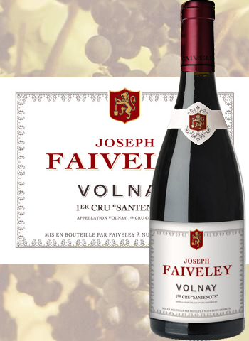 Volnay 1er Cru Santenots 2018 Joseph Faiveley