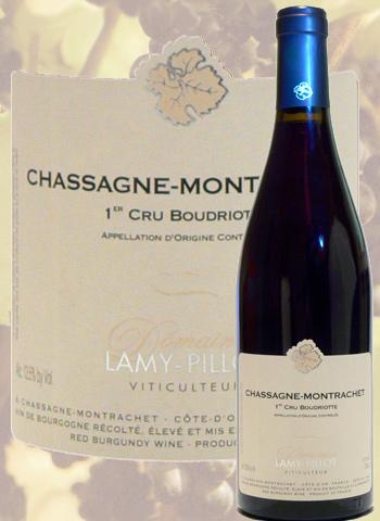 Chassagne-Montrachet  1er Cru Boudriotte 2017 Lamy-Pillot