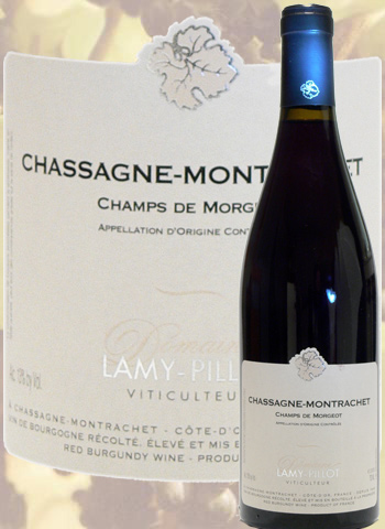 Chassagne-Montrachet Champs de Morgeot 2017 Lamy-Pillot