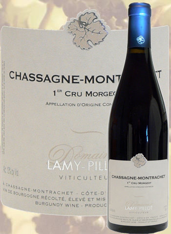 Chassagne-Montrachet 1er Cru Morgeot Rouge 2017 Lamy-Pillot