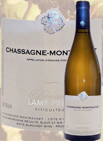 Chassagne-Montrachet Blanc 2019 Bourgogne Lamy-Pillot