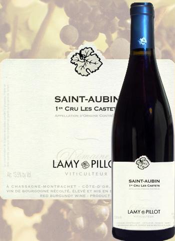 Saint-Aubin 1er Cru Les Castets 2017 Lamy-Pillot