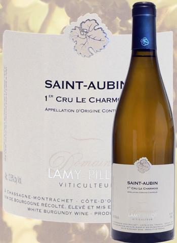 Saint-Aubin 1er Cru Le Charmois 2017 Lamy-Pillot