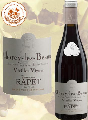 Chorey-Les-Beaune Vieilles Vignes Rouge 2018 Domaine Rapet