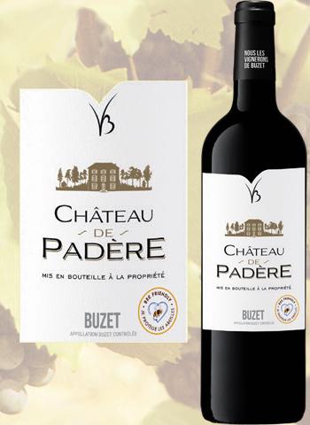 Château de Padère 2018 Vin bio de Buzet