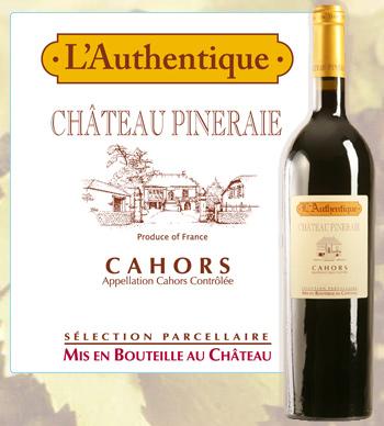 L'Authentique 2015 Château Pineraie