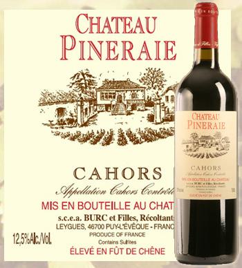 Château Pineraie 2019 Cahors