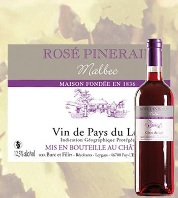Rosé Pineraie 2020 Côtes du Lot