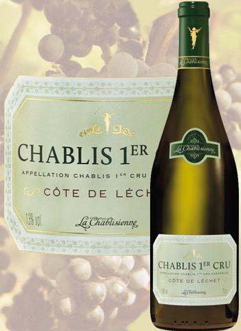 Chablis 1er Cru Côte de Léchet 2018 La Chablisienne