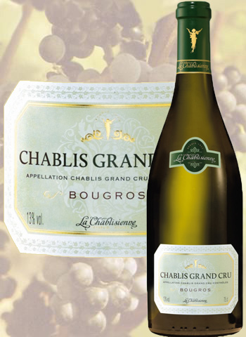 Bougros 2013 Chablis Grand Cru La Chablisienne