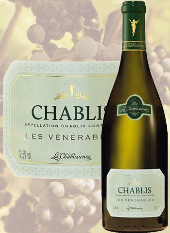 Chablis Vieilles Vignes Les Vénérables 2018 La Chablisienne