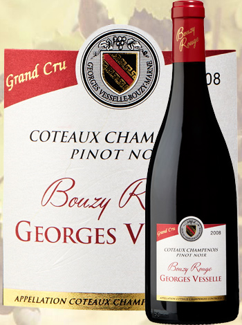 Bouzy Rouge Grand Cru 2008 Georges Vesselle