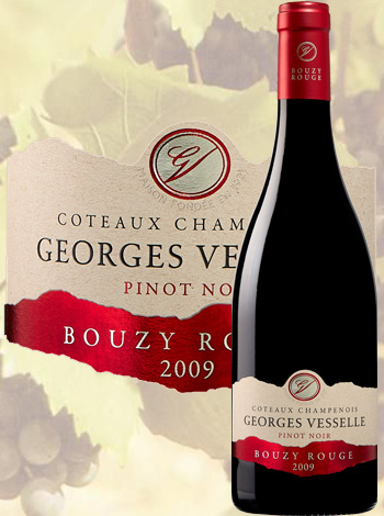 Bouzy Rouge Grand Cru 2009 Georges Vesselle