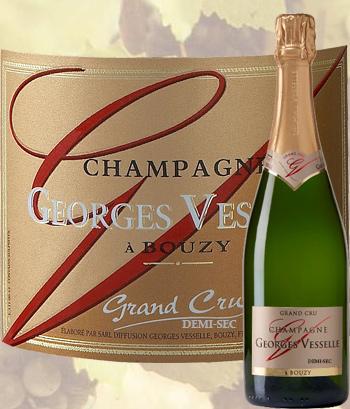 Champagne Demi-Sec Grand Cru Georges Vesselle