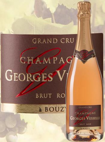 Champagne Brut Rosé Grand Cru Georges Vesselle