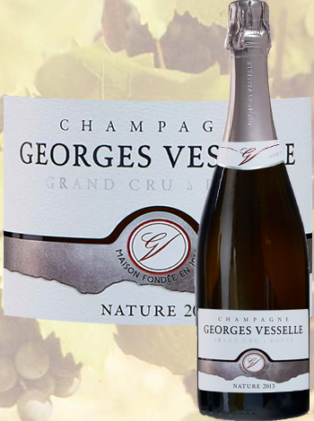 Brut Nature Millésimé 2013 Grand Cru Georges Vesselle