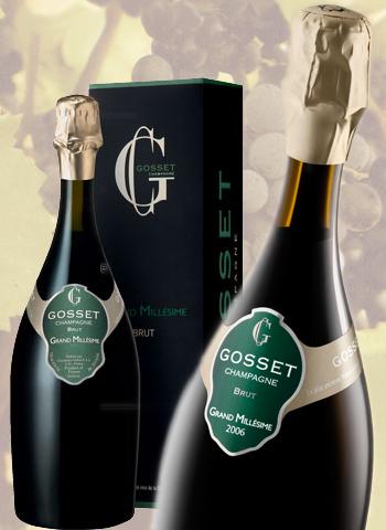 Grand Millésime Brut 2006 Magnum Champagne Gosset