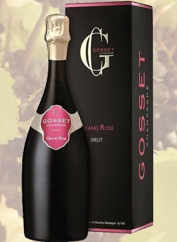Champagne Grand Rosé Brut Gosset