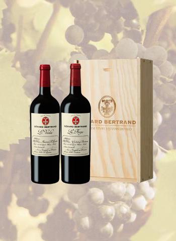 Coffret 2 bouteilles Le Viala & La Forge Gérard Bertrand