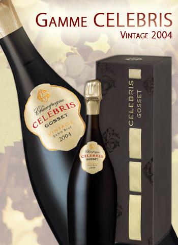 Coffret Gosset Celebris Extra Brut Vintage 2007