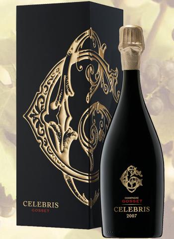 Coffret Champagne Gosset Celebris Extra Brut Vintage 2007