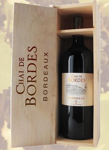 Coffret Magnum Bordeaux Chai De Bordes Quancard 2016