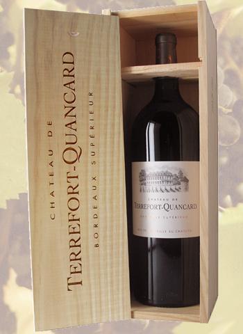 Coffret Magnum Bordeaux Supérieur Terrefort-Quancard 2014