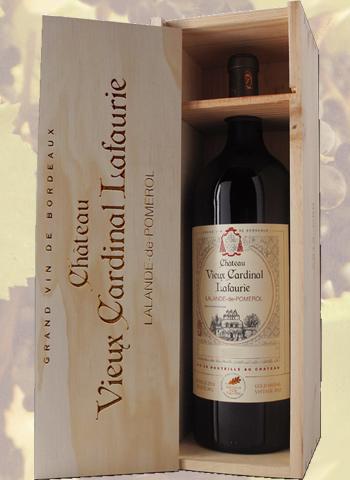 Coffret Magnum Lalande-de-Pomerol château Vieux Cardinal Lafaurie 2016