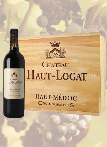 Coffret 3 bouteilles Haut-Médoc Château Haut-Logat 2015