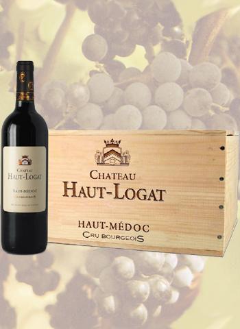 Coffret 6 bouteilles de vin Haut-Médoc Château Haut-Logat 2015