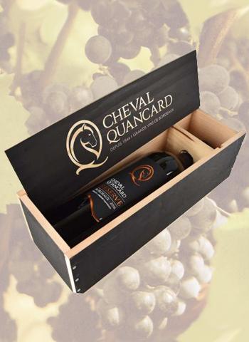 Coffret Magnum Bordeaux Cheval Quancard Réserve 2016