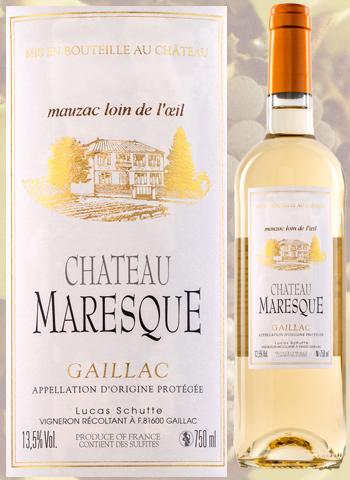 Château Maresque 2019 Gaillac Blanc Sec