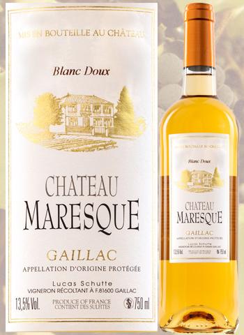 Château Maresque 2017 Gaillac Blanc Doux