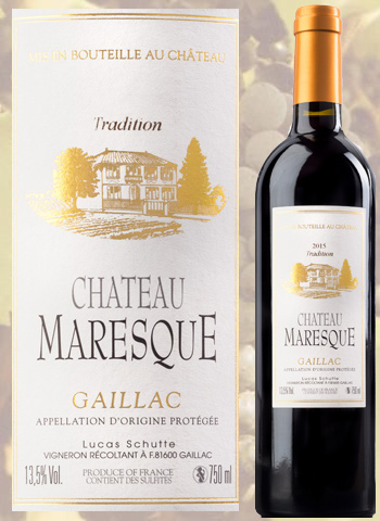 Château Maresque Prunelart 2016 Gaillac Rouge