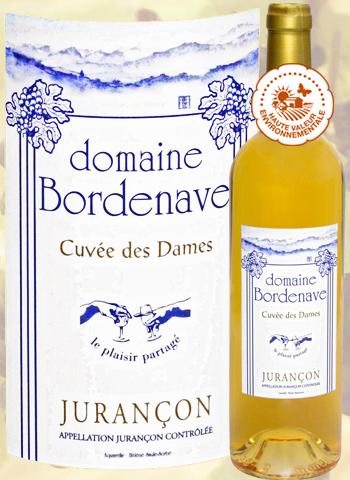 Cuvée des Dames 2016 Jurançon moelleux Domaine Bordenave