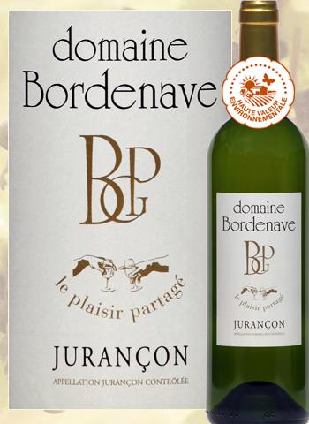 Le Plaisir Partagé 2017 Jurançon Sec Domaine Bordenave