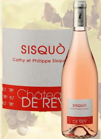 Sisquo Rosé 2019 Côtes du Roussillon Château de Rey